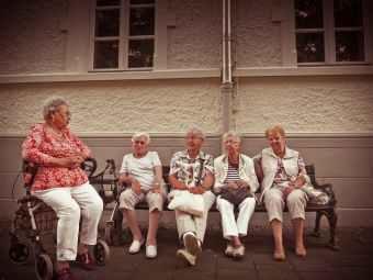 adult age elderly enjoyment